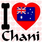 I (Heart) Chani in Australia