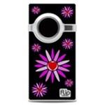 Lotus Blossoms Midnight Black Flip Mino