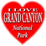 I Love Grand Canyon National Park