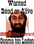 Wanted Osama bin Laden $500 million