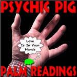 Psychic Pig Love Is In Your Hands