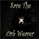 Save the orb weaver