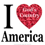 I Love America God's Country