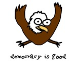 Occupy Wall Street Democracy is good eagle