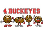 4 Buckeyes O H I O Products