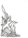 Celtic seahorse