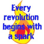 Every revolution begins with a spark