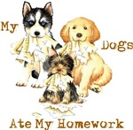 Back to School Dogs
