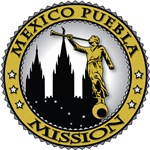 Mexico Puebla LDS Mission Classic Seal Gold