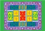 Rainbow Celtic Carpet