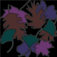 Falling Leaves - Jewel Tones