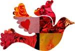 Red Bird Dove Flight