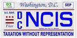 NCIS Licence Plate
