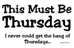 This Must be Thursday