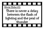 Movie Cliches - Thunder & Lightning