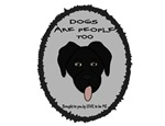 DOGS ARE PEOPLE TOO - BLACK LAB
