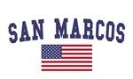 San Marcos Ca US Flag