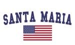 Santa Maria US Flag