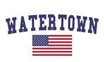 Watertown Ma US Flag