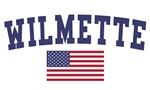 Wilmette US Flag