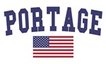 Portage In US Flag