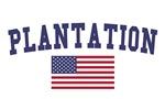 Plantation US Flag
