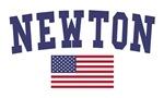 Newton US Flag
