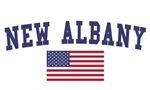 New Albany US Flag