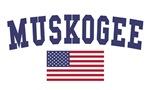 Muskogee US Flag
