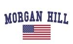 Morgan Hill US Flag