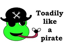 TOADILY LIKE A PIRATE