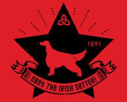 Irish Setter Revolution Icon