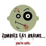 Zombies Eat Brains Teez