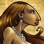 Bronze Mermaid Nouveau