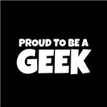 Proud to be a Geek (white txt)