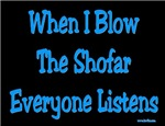 Jewish Blow the Shofar