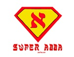 SUPER ABBA HEBREW