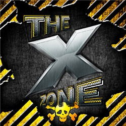 X ZONE Logo - Warning Box