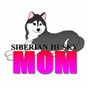 Black Siberian Husky Mom