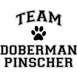 Team Doberman Pinscher T-Shirt