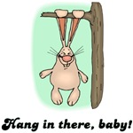 Hang In There Baby Rabbit