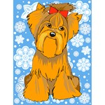 Yorkie T-Shirt - Holiday