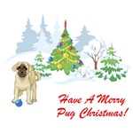 Have A Merry Pug Christmas T-Shirts