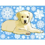 Yellow Lab T-Shirt - Holiday