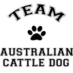 Team Australian Cattle Dog Greeting Cards