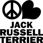 Peace Love Jack Russell Terrier