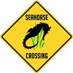Seahorse Crossing Sign