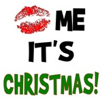 Kiss Me It's Christmas T-Shirts & Gifts
