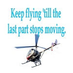 Keep on flyin' - heli
