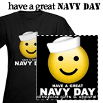 Have a Great Navy Day Dark Tees
